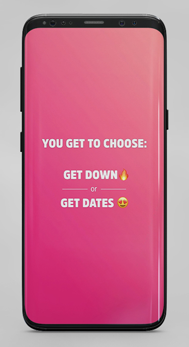 Down Dating is the best hookup app for same-age encounters