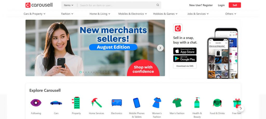 Carousell is Singapore's Craigslist alternative