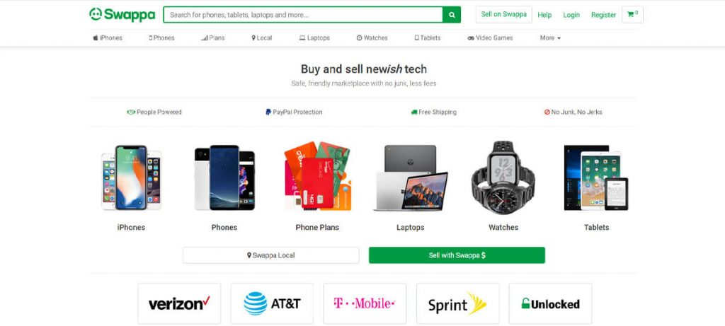 One of the most popular sites like Craigslist for tech and gadgets